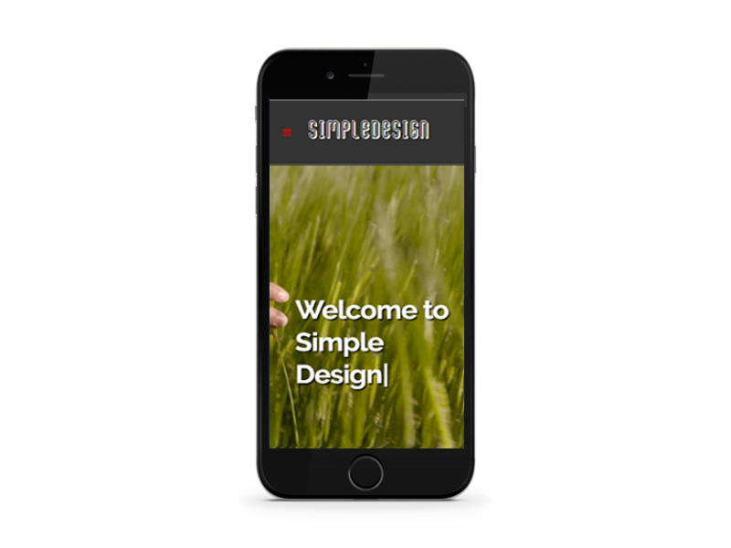 thesimpledesign mobile responsiveness